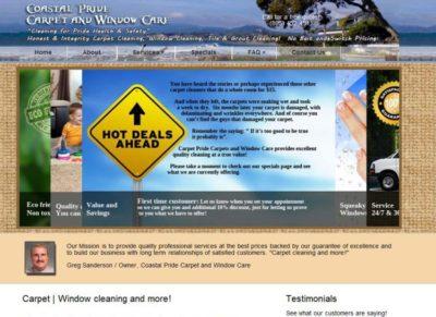 Coastal Pride Carpet and Window Care